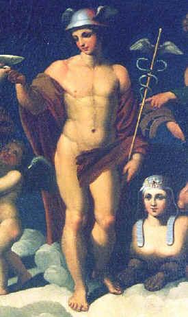 les dieux grecs et romains tableau