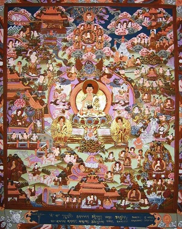 LES ORIGINES DU BOUDDHISME Buddha_life